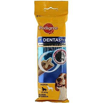 Pedigree Dentastix Snack cuidado dental para perros de razas medianas Bolsa 3 unidades
