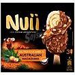 Helado bombón caramelo&nueces macadamia nui, 270 ml 270 ml Nuii