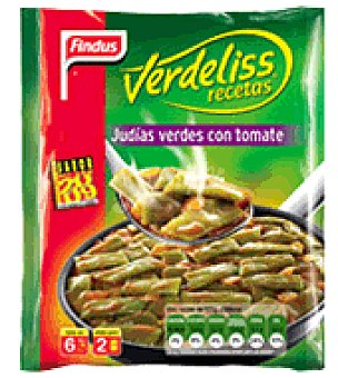 Findus Judia verde con tomate Verdeliss 450 g