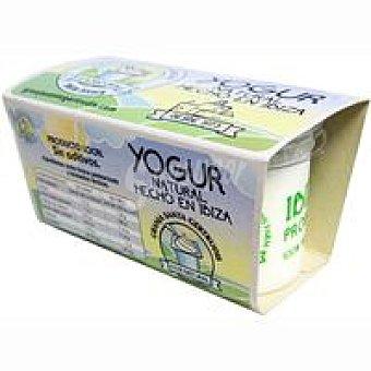 GRANJA SANTA GERTRUDIS Yogur natural Pack 2x125 g