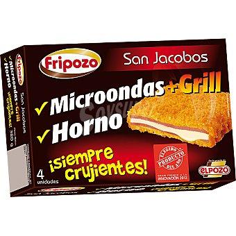 Fripozo San Jacobos crujientes para microondas grill y horno estuche 20 g 4 unidades