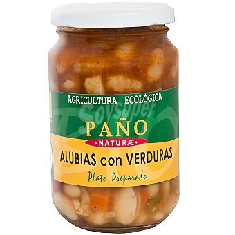 Paño Naturae Alubias ecológicas guisadas con verduras Tarro 330 g