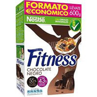 Fitness Nestlé Cereales de chocolate negro Caja 600 g