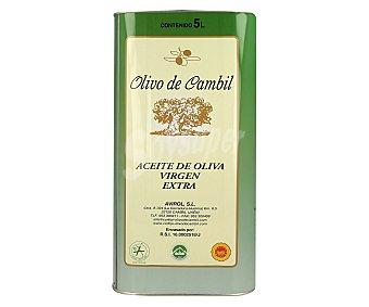 OLIVO CAMBIL Aceite de Oliva Virgen Extra Lata 5 Litros