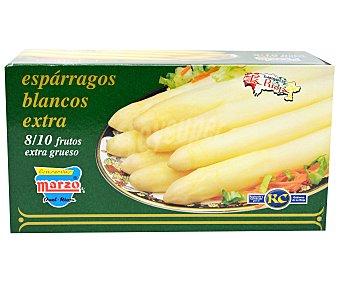 Marzo Espárragos blancos Extra 8/10 Frutos 500g