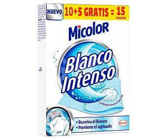 Micolor Toallitas blanqueadoras 10 uds