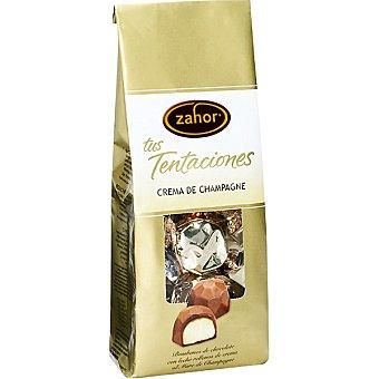 Zahor Tus Tentaciones bombones de chocolate con leche rellenos de Marc de Champagne Bolsa 120 g