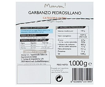 Mmm Auchan Garbanzo Pedrosillano Saco 1 Kilogramo