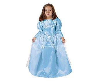 Atosa Disfraz infantil Princesa Azul, talla 2, 5-6 años 1 unidad