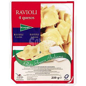 El Corte Inglés Tortellini fresco a los 4 quesos Bandeja 250 g