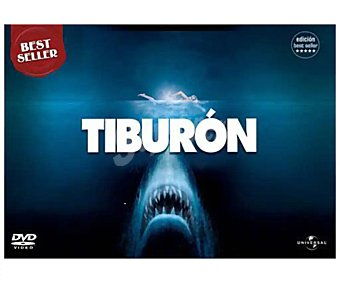 Acción Tiburón 1: Edición Best Seller, 1975. Película en dvd. Género: . Edad: + 12 años