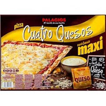 Palacios Pizza rectangular 4 quesos Caja 560 g