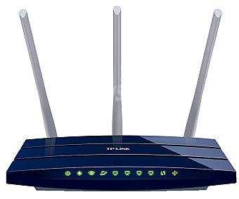 TP LINK TL-WR1043ND Router Inalámbrico tp-link Gigabit, velocidad N de hasta 450Mbps, 3 antenas de 5dBi, encriptación wpa, 5 puertos Gigabit, 1 puerto Usb