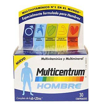 MULTICENTRUM Multivitamínico y multimineral para hombre 30 comprimidos