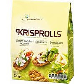 Krisprolls Pan Sueco sin azúcar 200g