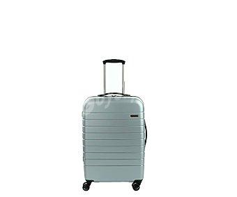 AIRPORT Maleta rígida de viaje tamaño mediano 67 cm, color gris alcampo