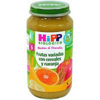 HiPP Biológico Tarrito de frutas con cereales-naranja Tarro 220 g