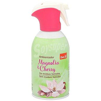 DIA Ambientador magnolia y cherry sin residuos húmedos pistola 250 ml