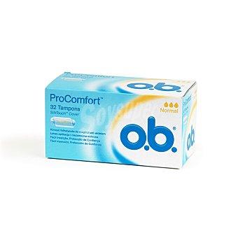 o.b. Tampones procomfort regular Caja 32 u