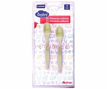 Baby Cucharas para bebés de 1ª edad, color verde 1ª Edad