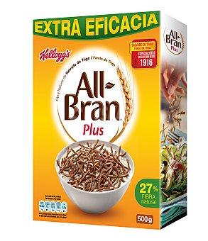 All bran Kellogg's All Bran Plus Cereales con Fibra Caja 500 g