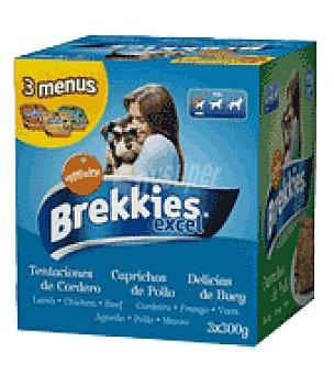 Brekkies Affinity  Brekkies excel dog wet pack 3 un