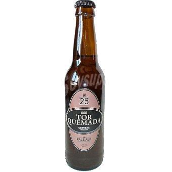 TORQUEMADA Cerveza artesana Pale Ale de Palencia botella 33 cl 33 cl