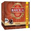 Café Intenso espresso 10 en cápsulas compantibles con Nespresso 40 uds Marcilla