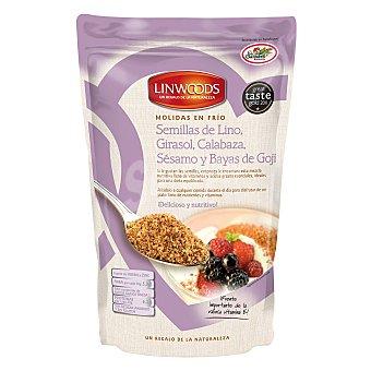 LINWOODS semillas de lino con girasol calabaza sésamo y bayas de Goji ecológicas envase 200 g
