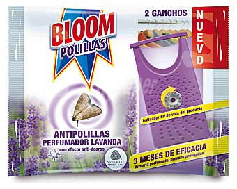 Bloom Ganchos Bloom Antipolillas Lavanda 2 ud