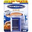Edulcorante aspartamo Envase 100 comprimidos HERMESETAS GOLD