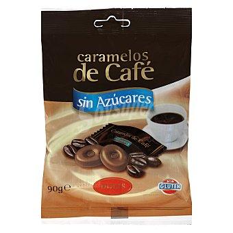 Dolis Caramelo sin azucar cafe Paquete 90 g