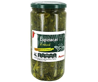 PRODUCTO ALCAMPO Espinacas al natural Frasco de 425 g