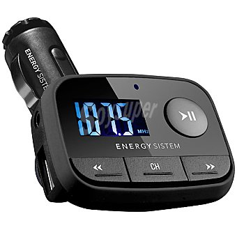 ENERGY SISTEM Car MP3 F2 MP3 Black Night con FM Transmiter y radio FM