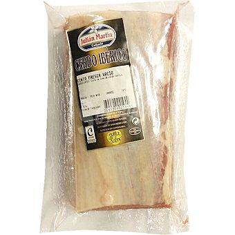 JULIAN MARTIN Cinta de lomo fresco de cerdo ibérico al vacío pieza peso aproximado 1 kg