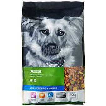 EROSKI Friends Mix de cordero-arroz Saco 10 kg