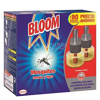 Bloom Insecticida continuo antimosquitos común y tigre 2 recambios.