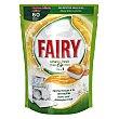 Lavavajillas máquina clean&fresh naranja todo en uno en pastillas 60 ud Fairy