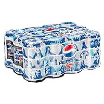Pepsi Refresco de cola ligth Pack 12x33 cl
