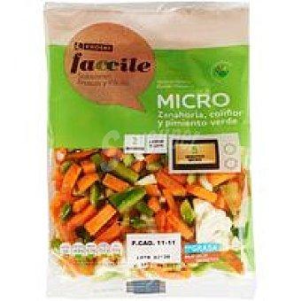 Eroski Faccile Mezcla de verduras Micro Bolsa 300 g
