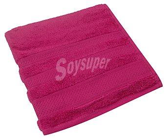 Actuel Toalla de lavabo 82% algodón, color rosa fucsia, ACTUEL.