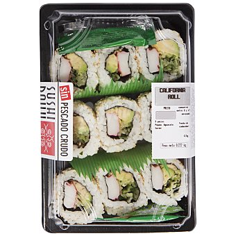 SUSHI DAILY California roll Bandeja de 222 g