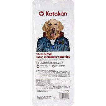 Katakán Stick dentales para perros de razas medianas y grandes envase 200 g envase 200 g