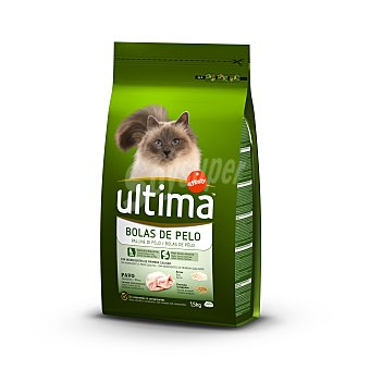 Ultima Affinity Pienso para gatos control de las bolas de pelo Saco 1.5 kg