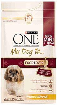 One Purina Comida para perros My Dog con Pavo y Arroz 1,5 kg