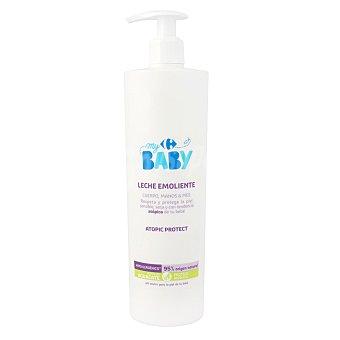 Carrefour Baby Leche emoliente hidratante para piel sensible y seca My 500 ml