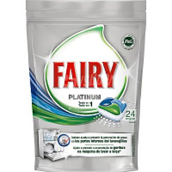 Fairy Lavavajillas máquina Platinum 16+8 dosis