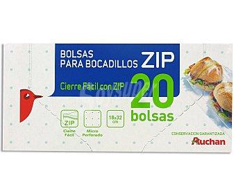 Auchan Bolsa Para Bocadillo 20 Unidades