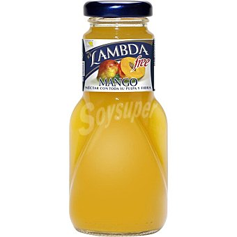 LAMBDA Sin Azúcar néctar de mango botella  200 ml