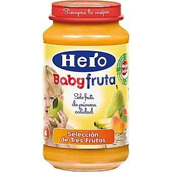 Hero Baby Tarrito selección de tres frutas Todo Fruta